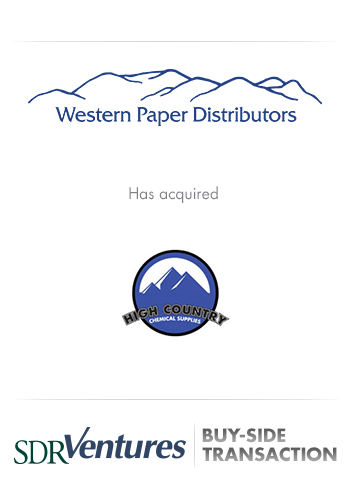 Western Paper Distributors - Distribution Transaction