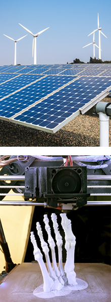 Renewable Energy and 3D Printing
