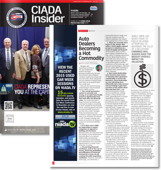 CIADA Insider: Auto Dealership Market