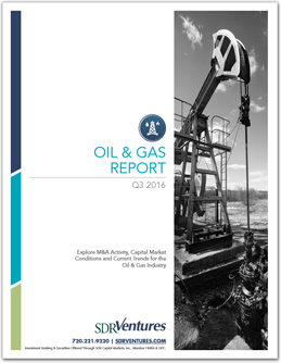 Oil and Gas M&A Report - Q3 2016