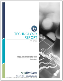 Technology M&A Report - Q3 2016