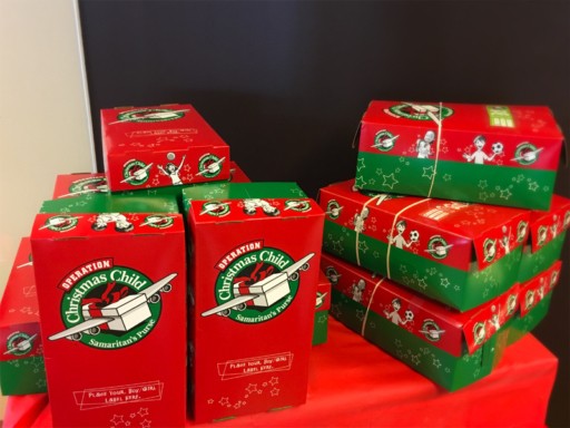 Operation Christmas Child Boxes