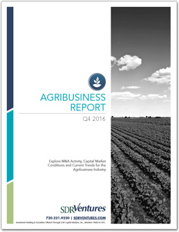 Q4 2016 Agribusiness Report