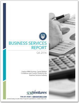 Q4 2016 Business Services Report