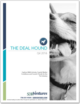 Q4 2016 Deal Hound Pet Report