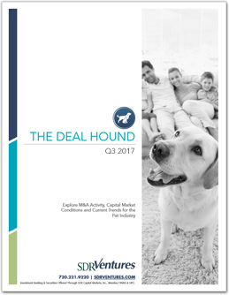 The Deal Hound Pet Report - Q3 2017