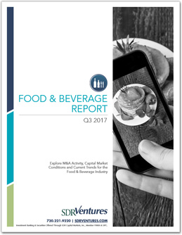 Food & Beverage Report - Q3 2017