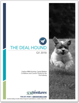 The Deal Hound Pet Report - Q1 2018