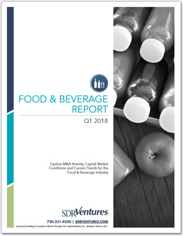 Food & Beverage Report - Q1 2018