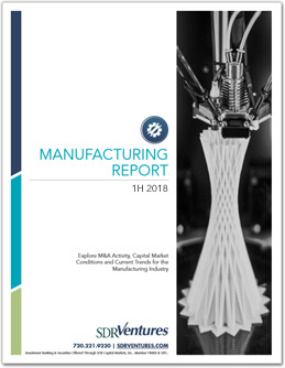 Manufacturing Report - 1H 2018