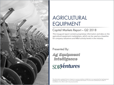 Agricultural Equipment Capital Markets Report