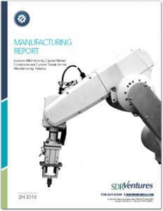 Manufacturing Report - 2H 2018