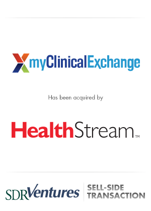 myClinicalExchange - Sell-Side