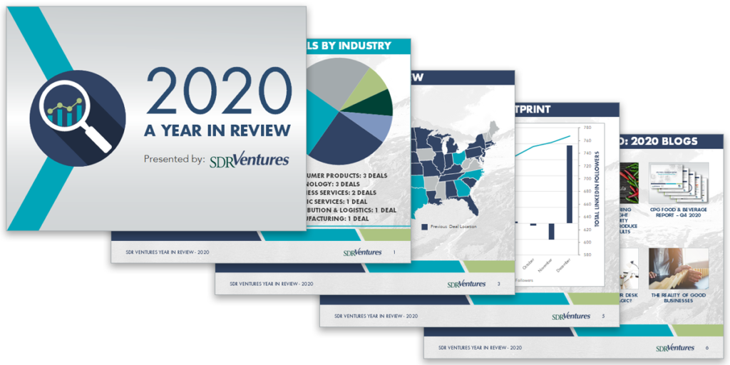 SDR Ventures Year in Review - 2020