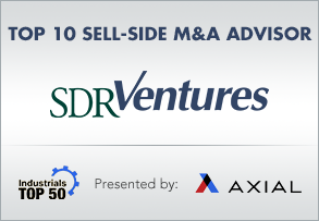Top 10 Sell-Side M&A Advisor - Industrials