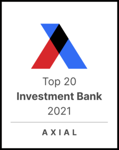 Axial Top 20 Investment Bank 2021